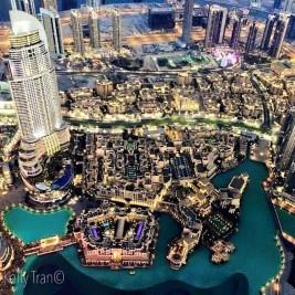 Views from Burj Khalifa 2