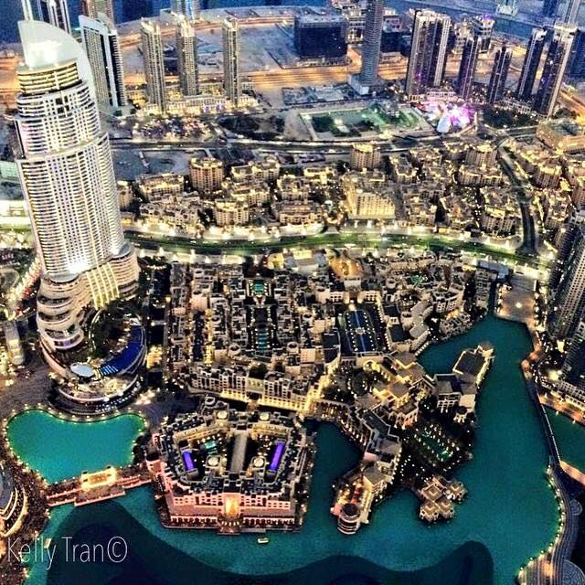 Views from Burj Khalifa 2