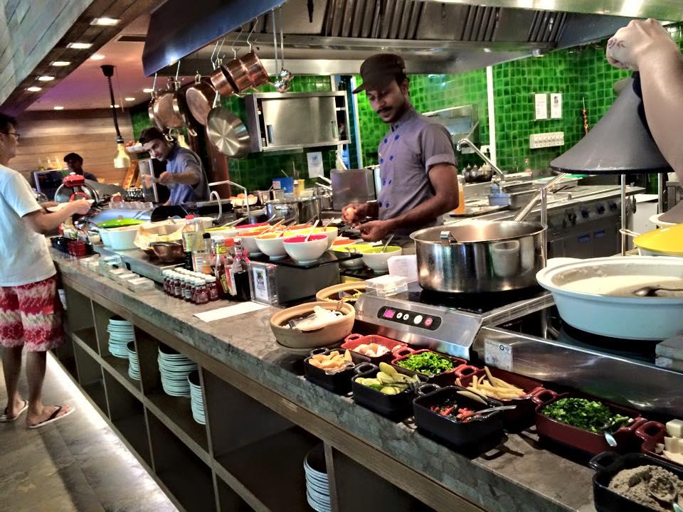 W Maldives - Kitchen Restaurant
